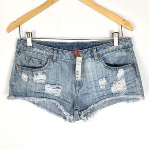 H&M Divided booty short shorts summer jean shorts